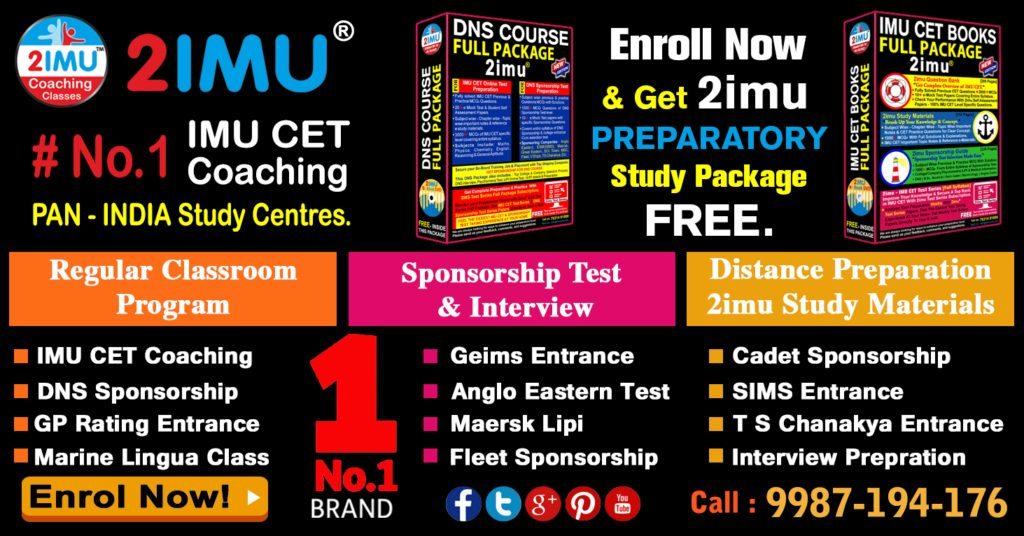 imu cet coaching classes, DNS sponsorship, interview preparation, anglo eastern test preparation